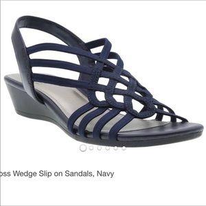 Impo Roma Strappy Stretch Sandal NiB